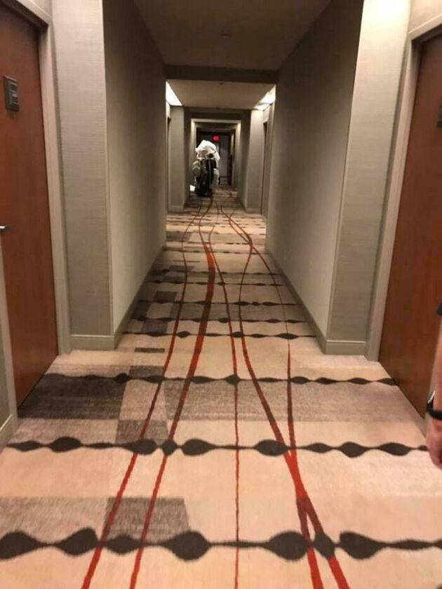 To nie plan filmowy, to zwykły hotel