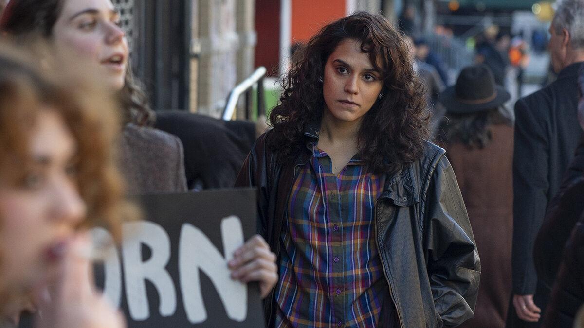"Kadr z 3. sezonu serialu ""Kroniki Times Square"""
