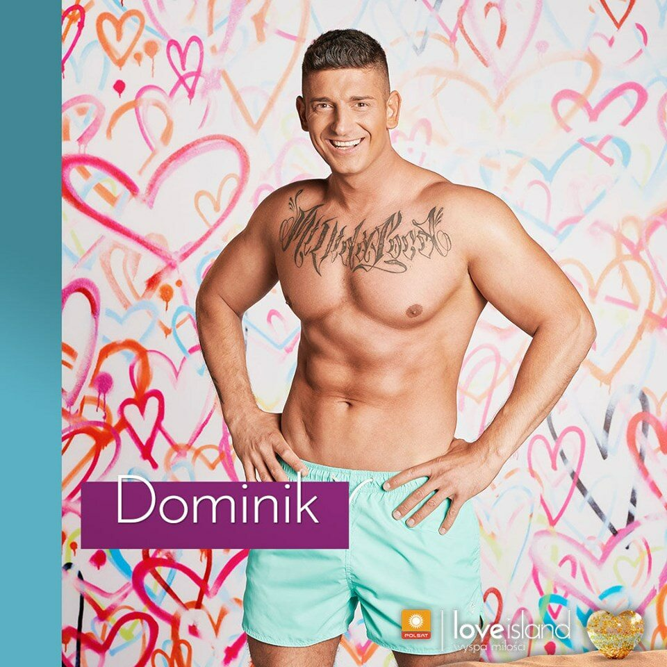 Dominik Choć Dominik urodził się na Ukrainie, to ze względu na polskie korzenie zdecydował się zamieszkać w Polsce, gdzie pracuje jako kucharz.  Jego słabością są szybkie samochody i piękne kobiety.