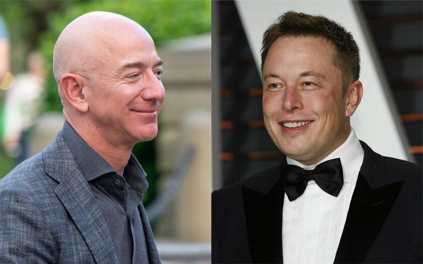 Jeff Bezos i Elon Musk