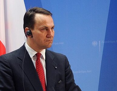 Sikorski: UE w ciągu dwóch godzin robi to, o co prosimy