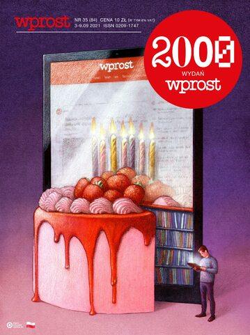Okładka tygodnika Wprost nr 35/2021 (2000)