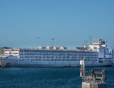 Ogromny statek zaginął na morzu. Na pokładzie 43 osoby i kilka tysięcy...