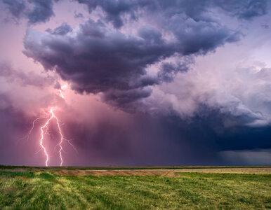 Prognoza pogody. Przelotny deszcz i burze. Na termometrach do 21 stopni...