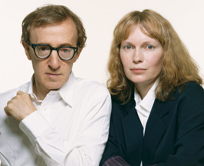 Woody Allen orazMia Farrow