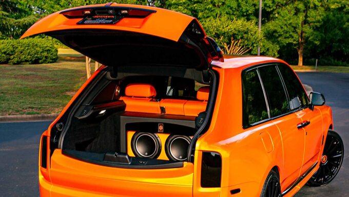 Rolls-Royce Cullinan Odella Beckhama Jr.
