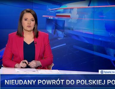 """Tusk ponownie pod ostrzałem """"Wiadomości"""" TVP. """"Zastrasza dziennikarzy i..."""