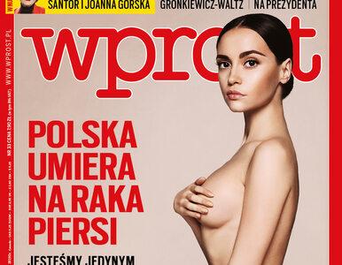 """Rak piersi znów zabija Polki. Co jeszcze w nowym """"Wprost""""?"""
