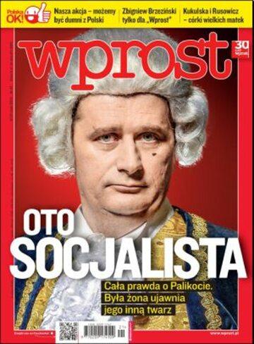 Okładka tygodnika Wprost nr 21/2012 (1527)
