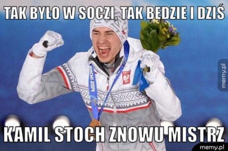 Memy po zwycięstwie Kamila Stocha
