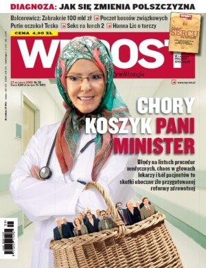 Okładka tygodnika Wprost nr 39/2009 (1392)