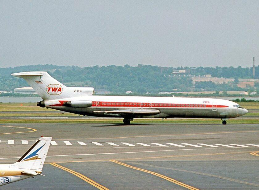 Boeing 727 TWA