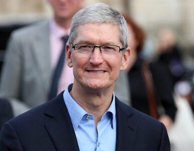 Szef Apple: Dostarczyliśmy do szpitali już ponad 20 mln przyłbic ochronnych