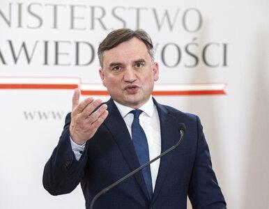 Zbigniew Ziobro komentuje decyzję sądu w sprawie Sławomira Nowaka....