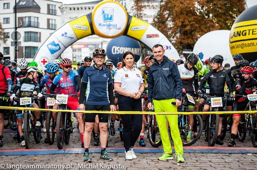 Maraton Rowerowy Lang Team w Kwidzynie, Jolanta Schreiber, Prezes Pomorskiego Związku Kolarskiego
