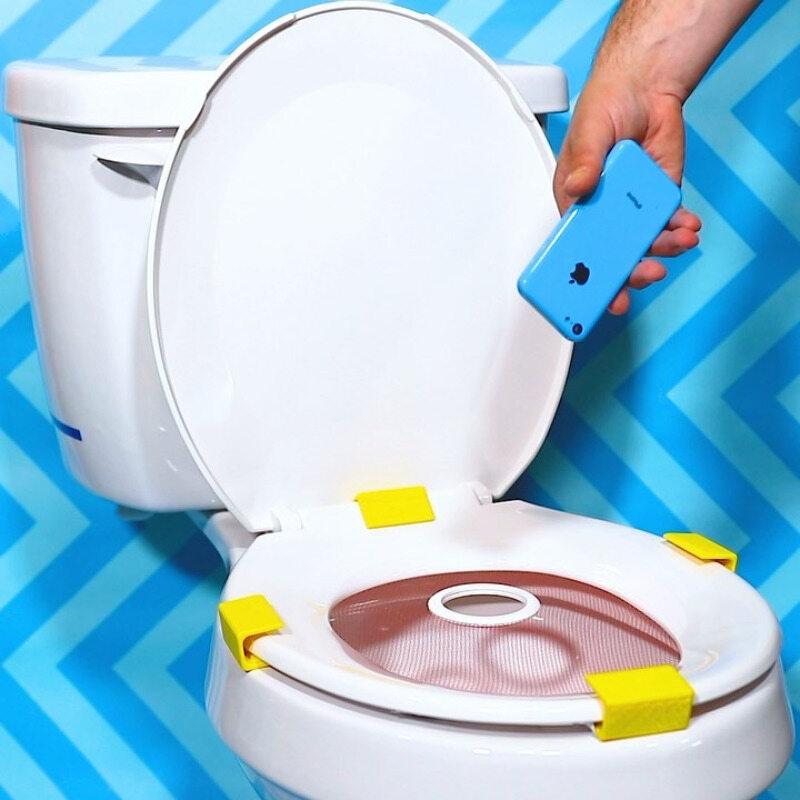 Ochrona dla osób często upuszczających swoje telefony w toalecie