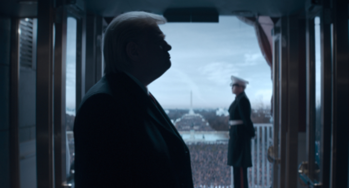 "Kadr zserialu ""The Comey Rule"" (2020)"