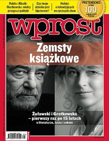 Okładka tygodnika Wprost nr 24/2011 (1479)