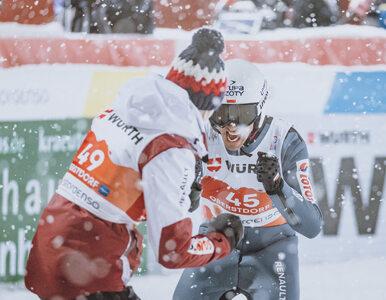 Konkurs drużynowy w Oberstdorfie. Polacy na podium!