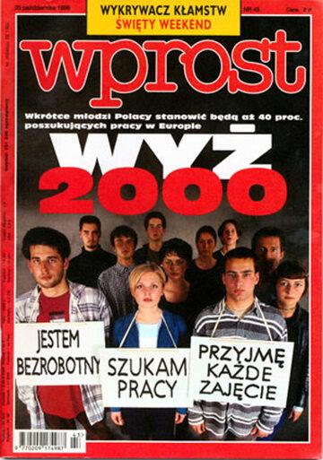 Okładka tygodnika Wprost nr 43/1998 (830)