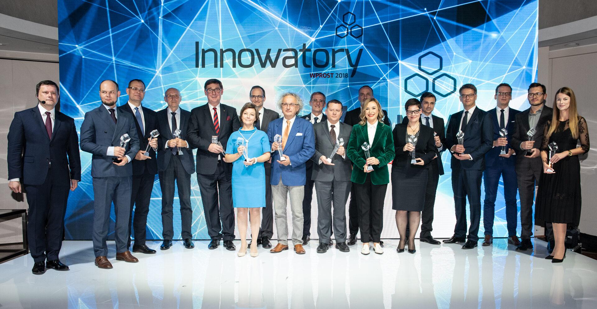 Laureaci VIII edycji Nagrody Innowatory Wprost 2018