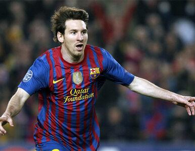 Barca wyrzuciła Milan z LM, Messi pobił rekord
