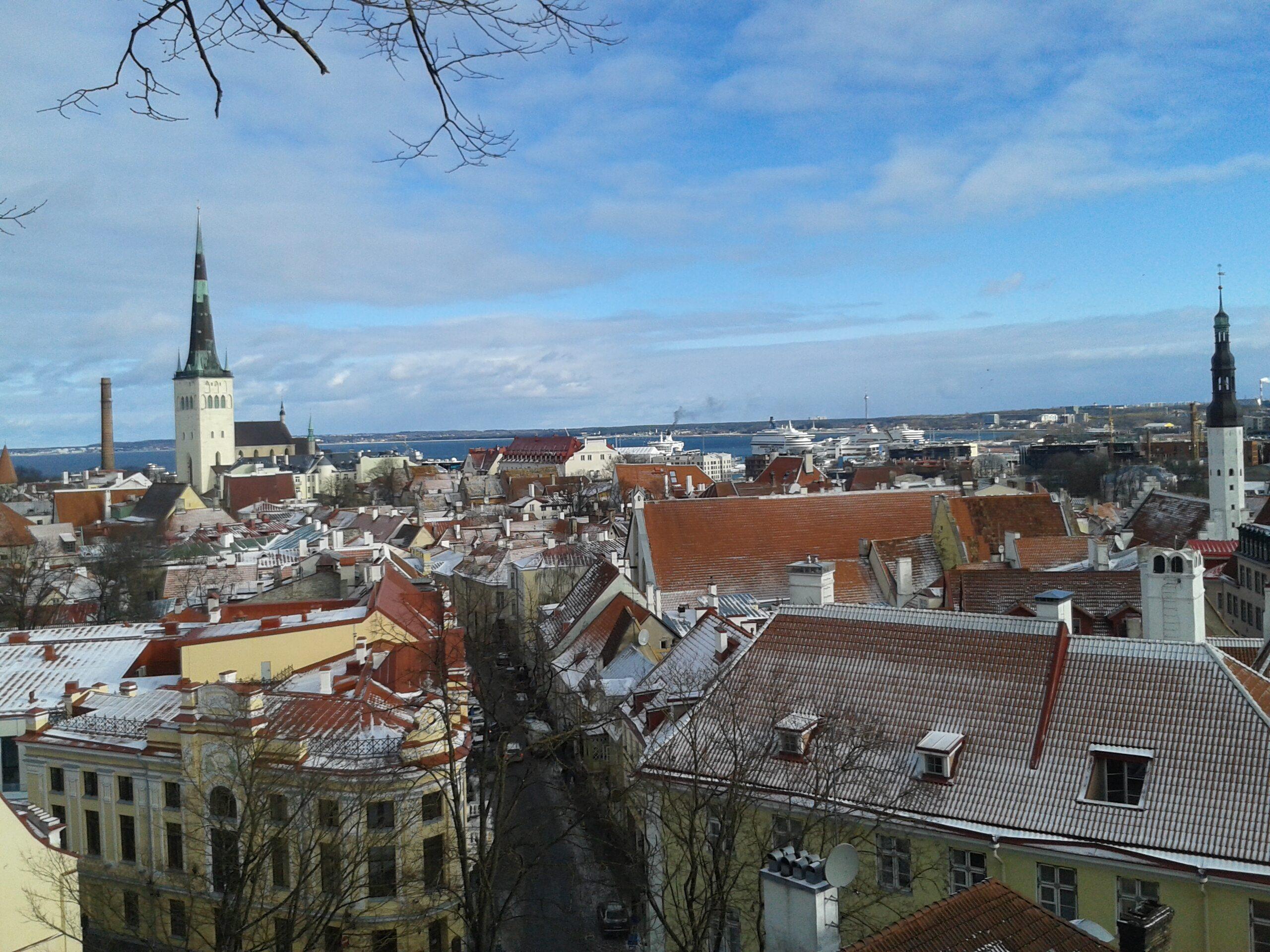 Stolica Estonii Tallinn
