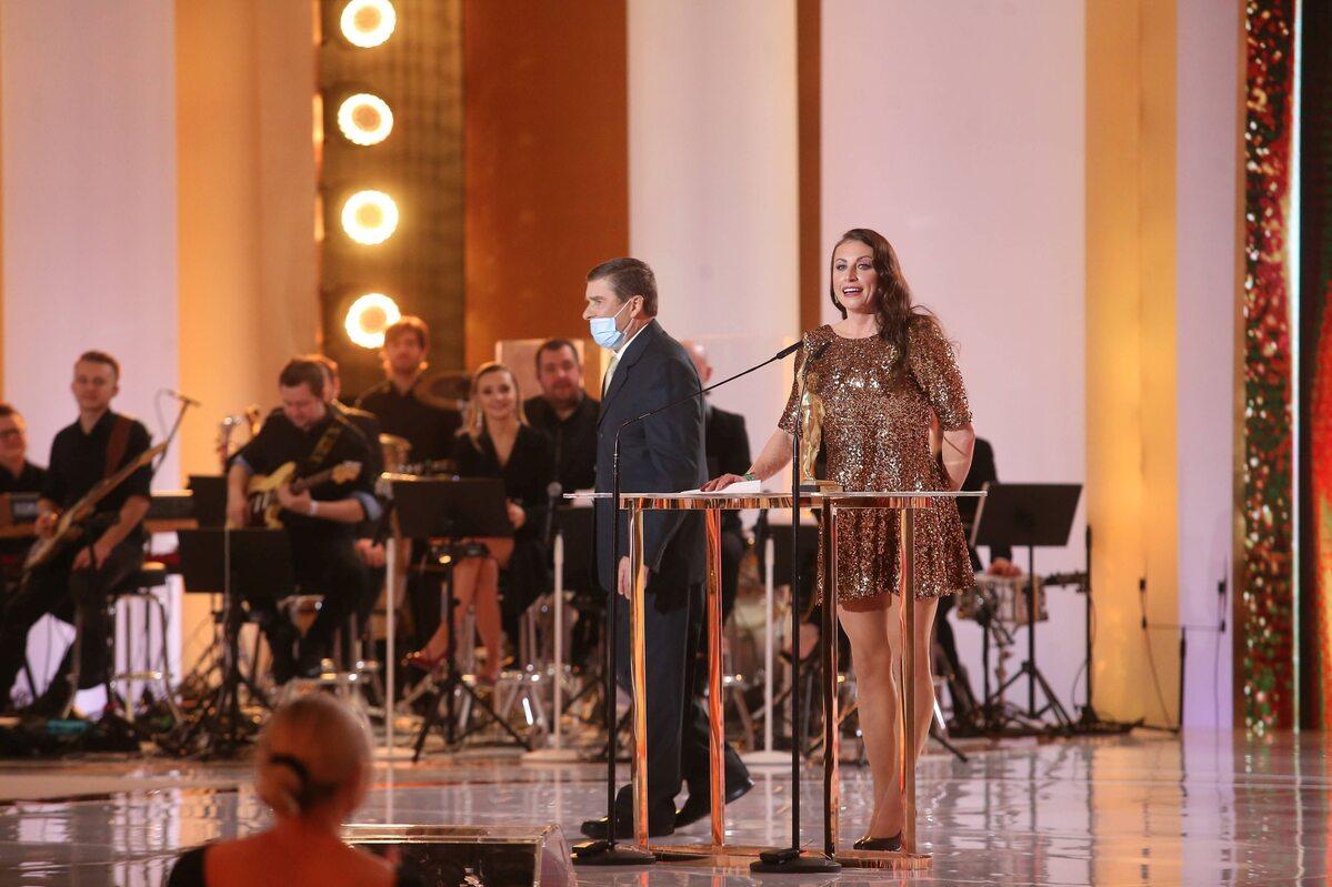 Justyna Kowalczyk-Tekieli z nagrodą Superchampiona