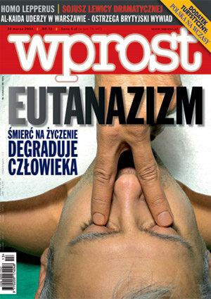 Okładka tygodnika Wprost nr 13/2004 (1113)