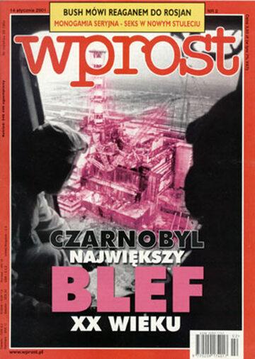 Okładka tygodnika Wprost nr 2/2001 (946)