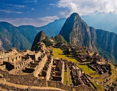 Turyści z Europy robili sobie nagie selfie na Machu Picchu