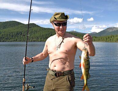 Tak wakacje spędza Putin. Ryby i goły tors prezydenta Rosji to już klasyka