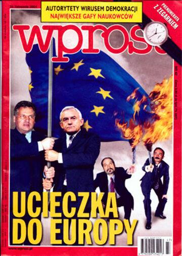 Okładka tygodnika Wprost nr 47/2001 (991)