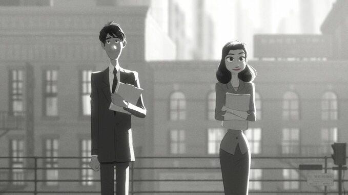 "Kadr zfilmu ""Paperman"" (2012)"