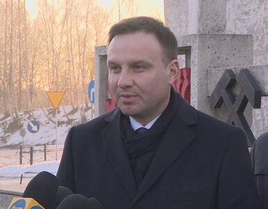 Andrzej Duda o strajku w JSW: Liczę, że konflikt zakończy się dymisją...