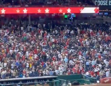 USA. Panika kibiców podczas meczu. Przy stadionie padły strzały