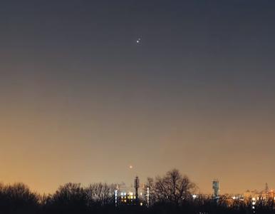 Gwiazda Betlejemska nagrana nad Polską. Zobacz widowiskowy film