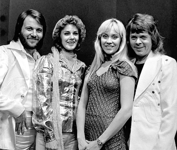 ABBA w1974 roku