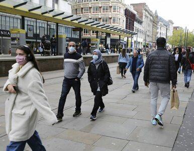Niemal 20 tys. nowych zakażeń w Wielkiej Brytanii. To już w sumie 873...