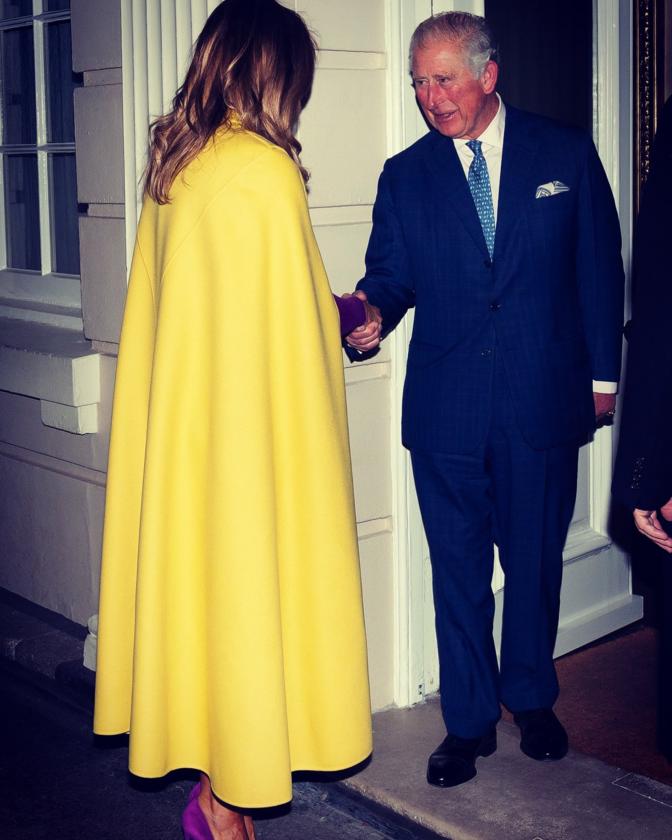 Melania Trump i książę Karol