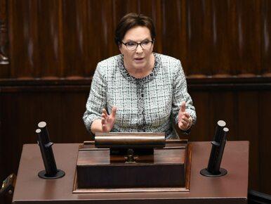 Była premier: Wezwanie Michała Tuska miało uderzyć w jego ojca. Obrzydliwe