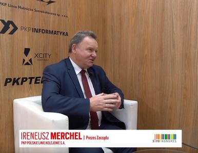 Ireneusz Merchel, prezes Zarządu PKP Polskie Linie Kolejowe S.A., o...