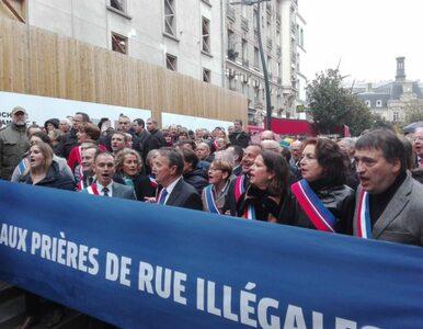 Francuzi mówią dość. Protest przeciwko ulicznym modlitwom muzułmanów