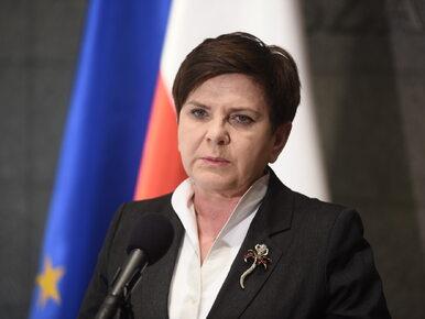 """Europosłanka PO krytykuje """"sztywnoustą"""" Szydło. """"Polska przez zachowanie..."""