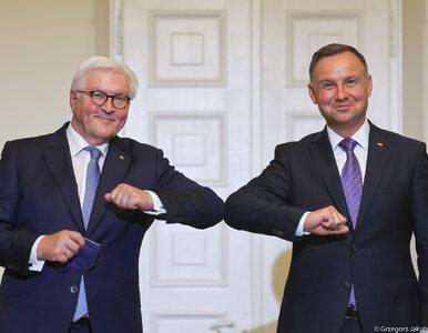 Wizyta prezydenta Steinmeiera. Duda: Polska i Niemcy są jak dwie...
