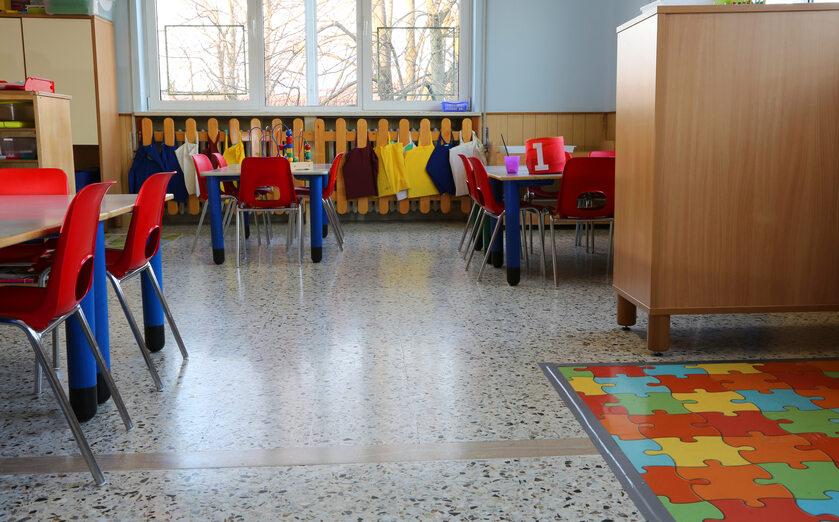 Klasa w przedszkolu, zdjęcie ilustracyjne