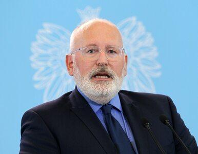 """""""Politico"""": Frans Timmermans chce zostać przewodniczącym KE"""