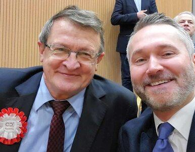Wałęsa opublikował selfie z Cymańskim. Zwolennicy opozycji nie kryją...