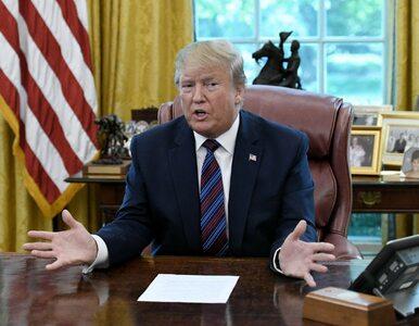 """Trump ogłasza """"wielkie zwycięstwo praworządności"""". Graniczny mur..."""