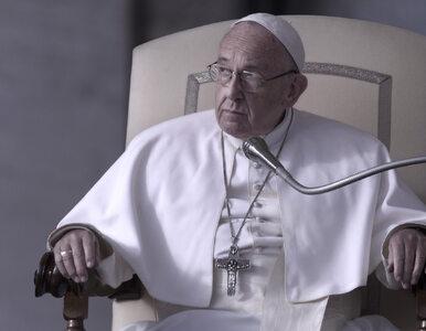 """Papież zmartwiony homoseksualizmem wśród księży i zakonników. """"Poważny..."""